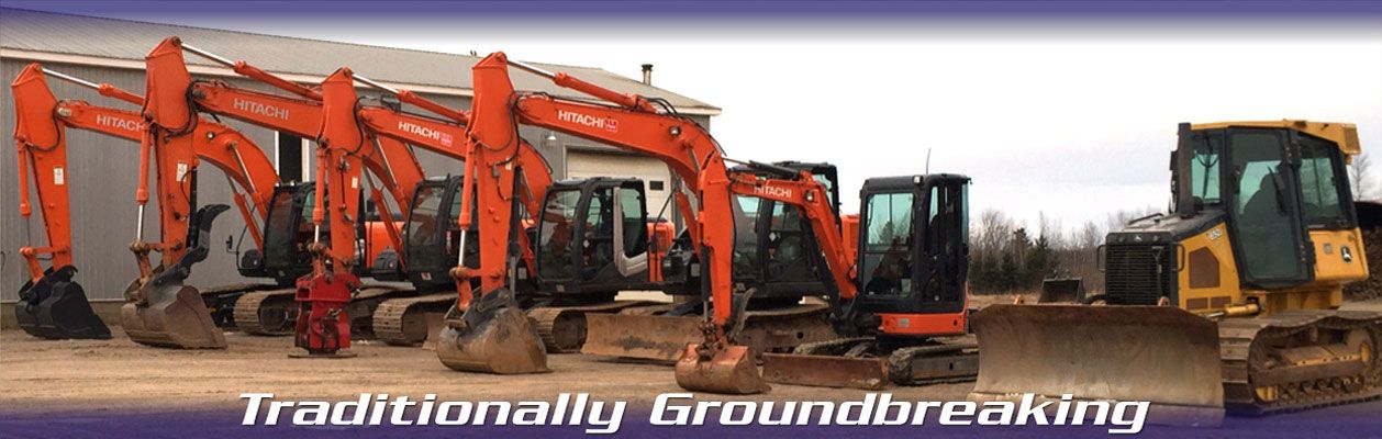 Traditionally Groundbreaking | HITACHI Construction Machinery Medium Excavators